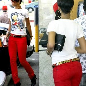 Zara Trafaluc HI RISE Skinny Slim Denim Jeans